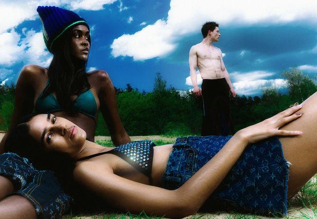 BIGOUDI: Dennis Brand Vogue Italia