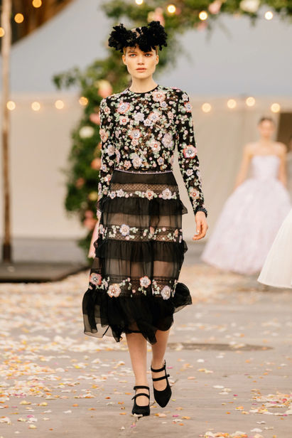 Madeleine Fischer for Chanel Spring/Summer 2021 Haute Couture   ICONIC