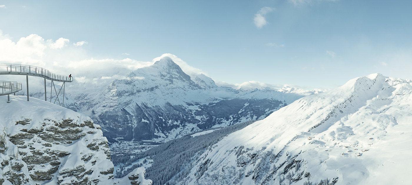 "SEVERIN WENDELER: Jungfraubahn-Winter ""Photography by Sebastien Staub c/o SeverinWendeler"""
