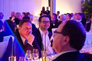 Winner Dinner 2011 :  Dr. Carsten Brosda (Hamburger Senatskanzlei), Armin Jochum (Jung von Matt)