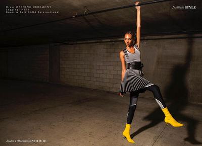 Jayden for Institue Magazine shot by Michael Daszynski