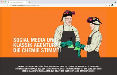 Jeanne DETALLANTE c/o 2AGENTEN for MEDIA BY NATURE  SOCIAL MEDIA CAMPAIGN