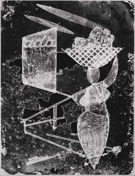 Südliche Erinnerung, 1957, copyright Heinz Hajek-Halke und CHAUSSEE 36