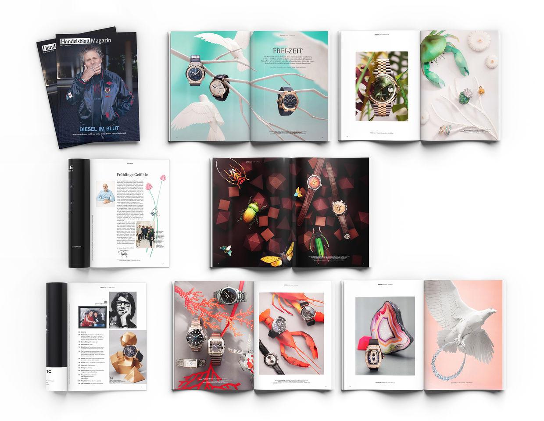 FREI-ZEIT - Handelsblatt Magazin - Set Design