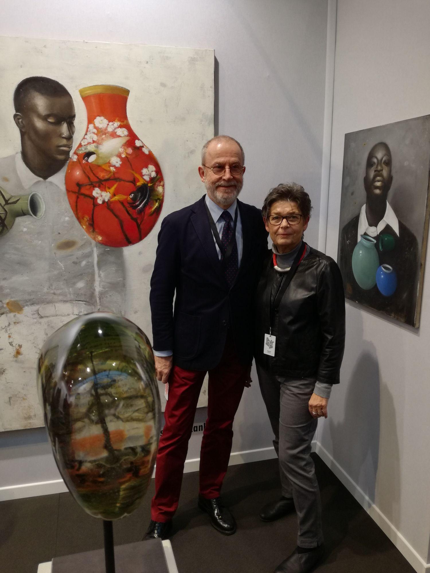 AKAA - Art & Design fair, Paris 10 - 12 November 2017,  Jutta & Joachim Melchers ARTCO GALLERY