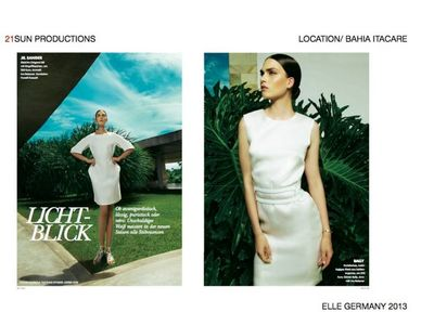 21 SUN PRODUCTIONS for ELLE GERMANY