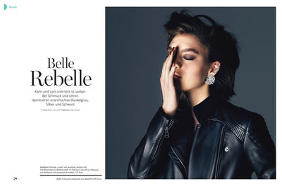 BALLSAAL : GABRIELA SPECKBACHER (Hair & Make-up) for MYSELF