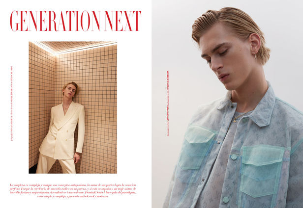 KLAUS STIEGEMEYER: BEN LAMBERTY for ISSUE Man