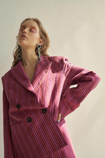 BIGOUDI: Lisa Marie Lohmann für Harper's Bazaar Ukraine