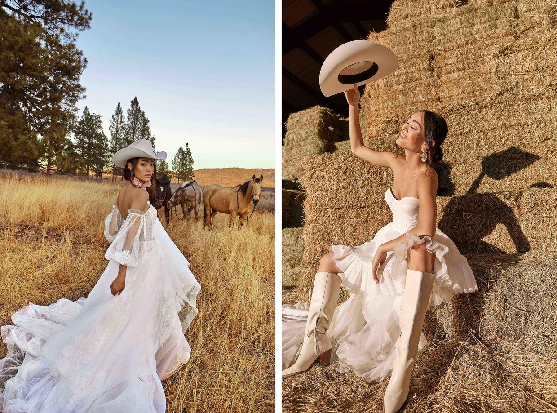 ALYSSA PIZER MANAGEMENT: Tara Lauren Bridal By Mathilde Bresson