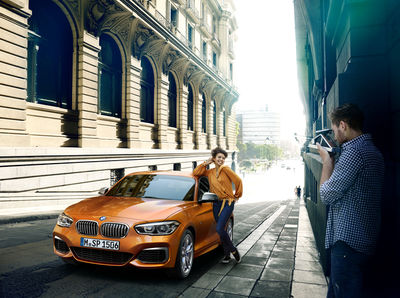 WE! SHOOT IT, BMW 1er CGI