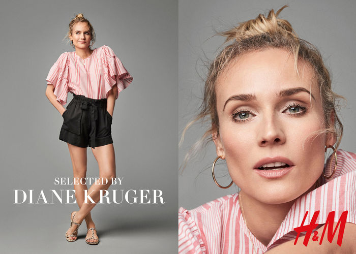 DONALD SCHNEIDER STUDIO for DIANE KRUGER x H&M
