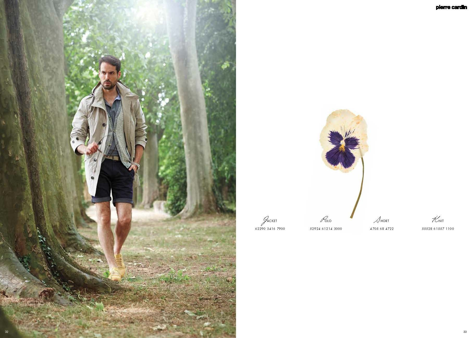 Pierre Cardin Lookbook s/s 16