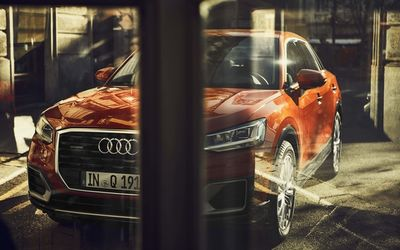 WE! SHOOT IT Audi Q2 Portfolio Spread, shot in Torini, Italy, Turin, Postproduction by Wagnerchic