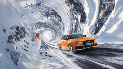 Audi Quattro Winter Campaign MAKING OF