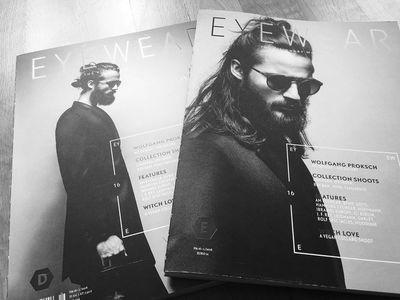 STEPHANIE WENCEK POSTDESIGN for EYEWEAR Magazine