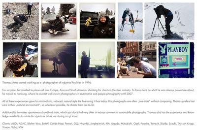 UPFRONT PHOTO & FILM GMBH: Thomas Motta current portfolio preview