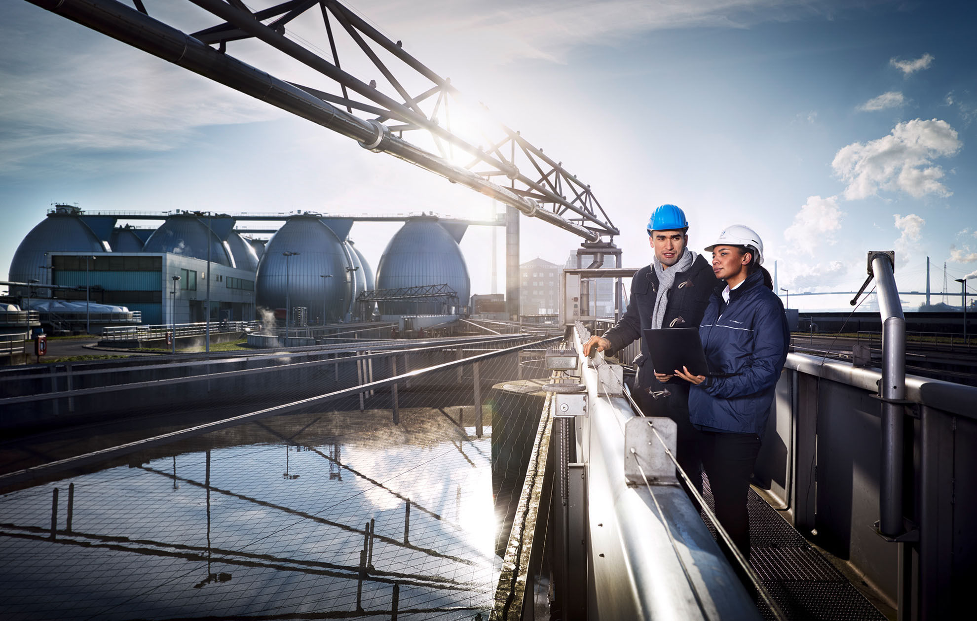 MANU AGAH PHOTOGRAPHY for ENDRESS+HAUSER GROUP - image campaign 'People for Process Automation'