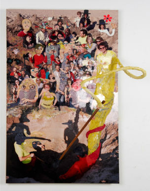 THE VOULEZ VOUS CHAUD by Gelitin (Galerie Perrotin)