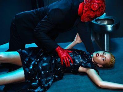 HUNTER & GATTI : Elizabeth Banks for FLAUNT