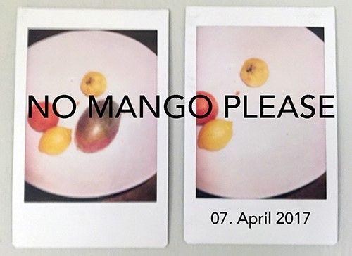 JULIA WALDMANN : NO MANGO PLEASE