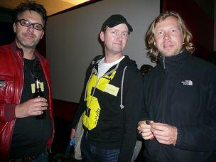 FFF-WELLWORK : Director Gero von Braunmuehl, Cameraman Volker Schellbach and Jan Bauer (G&K)