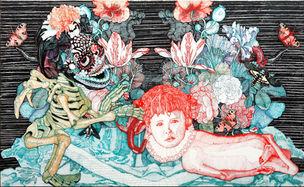 Galerie Anita Beckers : CORNELIA RENZ, 'Self fed by little death'