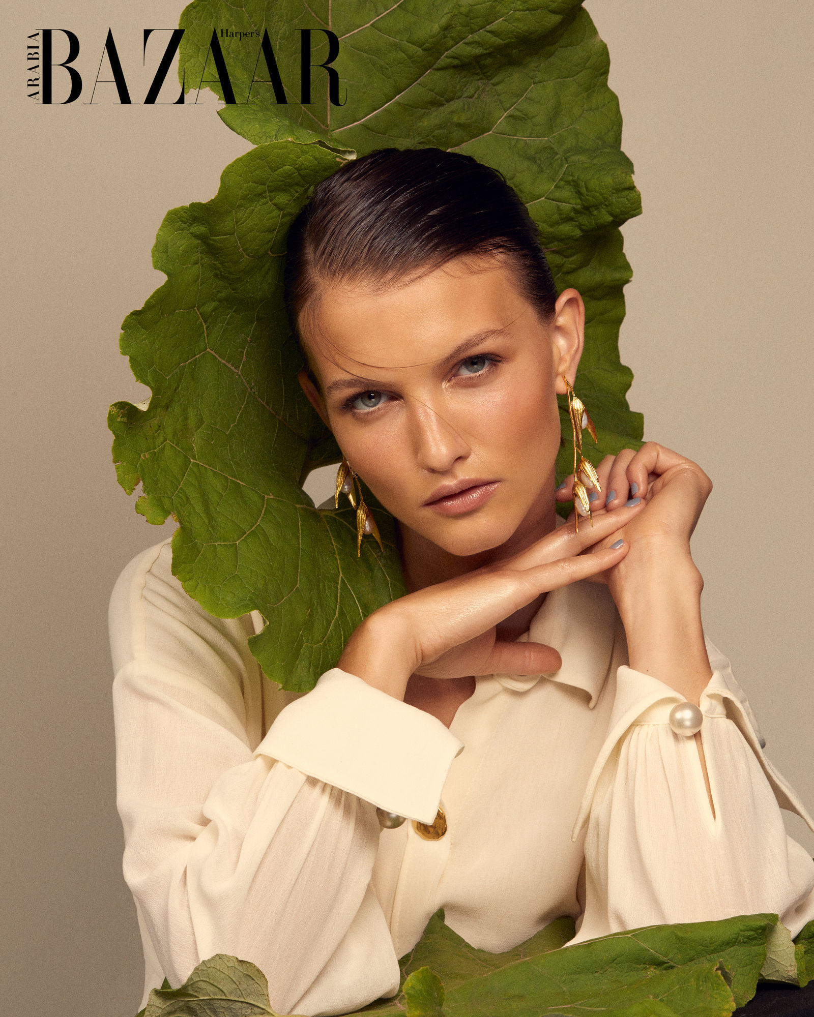 NINA KLEIN, Mel Mercier & Benjamin Becher for Haper´s Bazaar Arabia