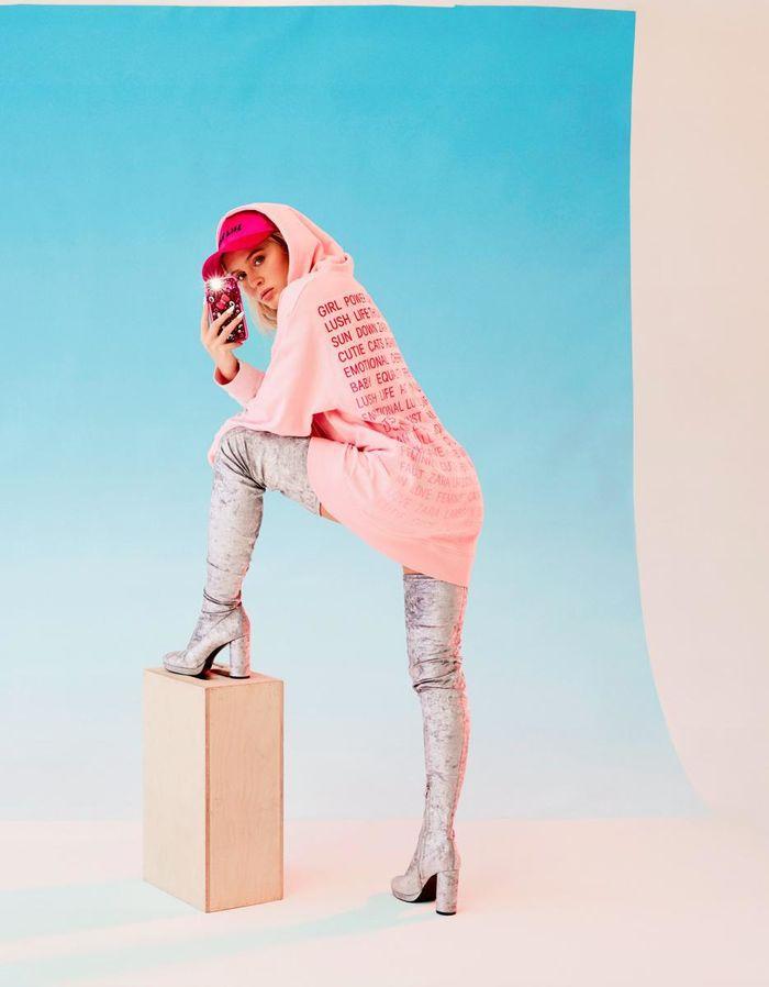 Zara Larsson x H&M 2017 by Arvida Byström c/o ADAMSKY