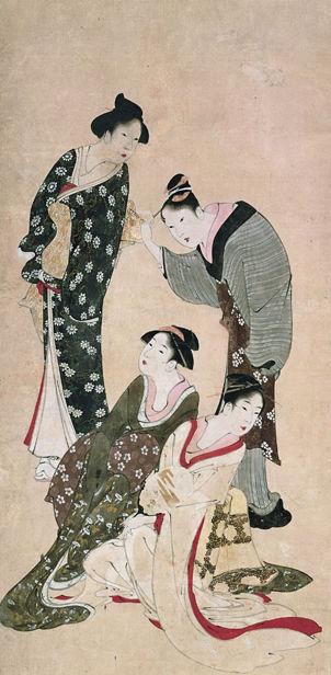 Frauen aus allen Gesellschaftsschichten © Katsushika Hokusai Museum of Art
