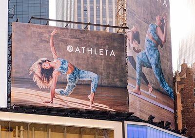 ALYSSA PIZER MANAGEMENT: Athleta In Times Square By Jon Johnson