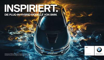 RECOM CGI : BMW Hybrid Kampagne - FULL-CGI