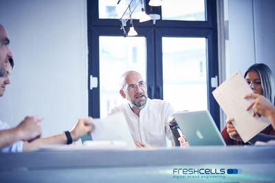ROCKENFELLER & GöBELS: BERTHOLD LITJES FOR FRESHCELLS -  DIGITAL BRAND ENGINEERING