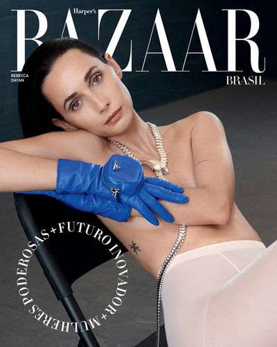 Rebecca Dayan photographed by Carrol Cruz & Jacob Sadrak for Harper's Bazaar Brazil