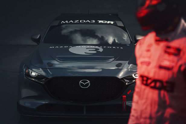 "SEVERIN WENDELER: ""Mazda 3 TCR Ready"" Photography by Patrick Curtet c/o Severin Wendeler"