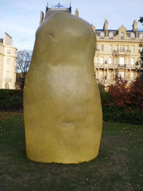 Frieze Sculpture Garden - BONSAIPOTATO by Remy Markowitsch
