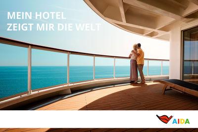 Jules Esick c/o MARLENE OHLSSON PHOTOGRAPHERS for AIDA Cruises Campaign