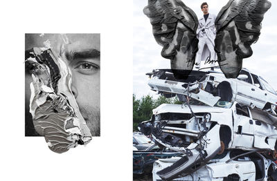 HUNTER & GATTI - BOOK 'STAY - LOST ART', get your signed copy at UPDATE17BERLIN