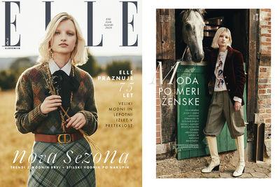 HILLE PHOTOGRAPHERS: ANJA BOXHAMMER for ELLE Slovenia Magazine