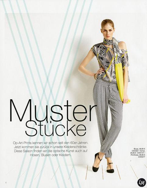 LOUISA MODELS : Sofia LARSSON for S.OLIVER