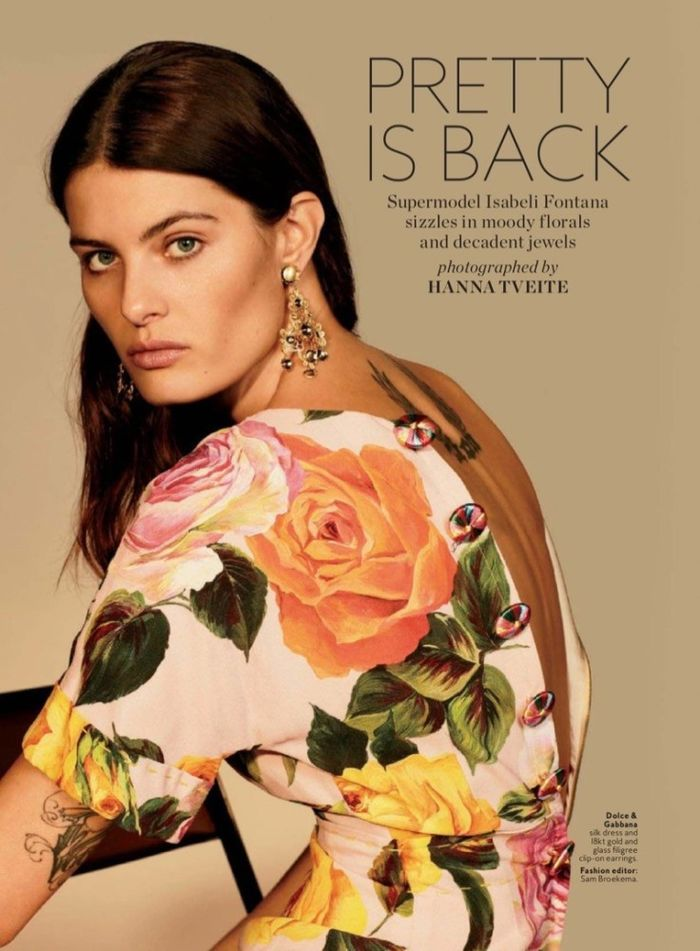Isabeli Fontana for InStyle 2017
