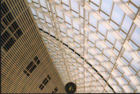 TRANSPORTATION: AVIGNON TGV Station - Ceiling