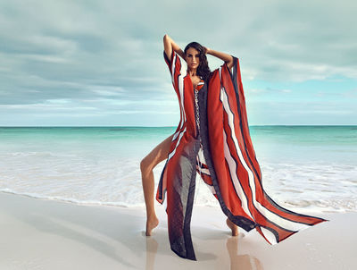HM Nina Tatavitto for Lua Morena Campaign Bahamas 2018 shot by Cintia Barroso Alexander