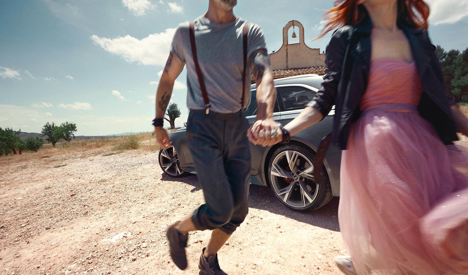 ANKE LUCKMANN shoots the Audi RS6 Avant for Philipp & Keuntje