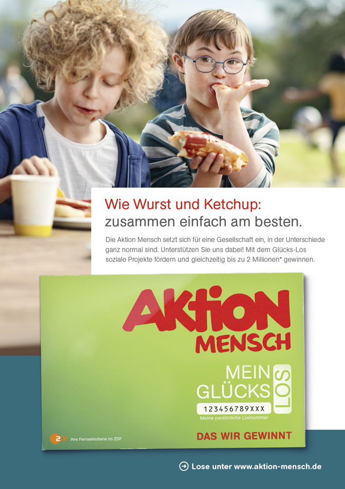 HAUSER FOTOGRAFEN: Tobias Schult +++ Aktion Mensch e.V. +++ Agency: Kolle Rebbe