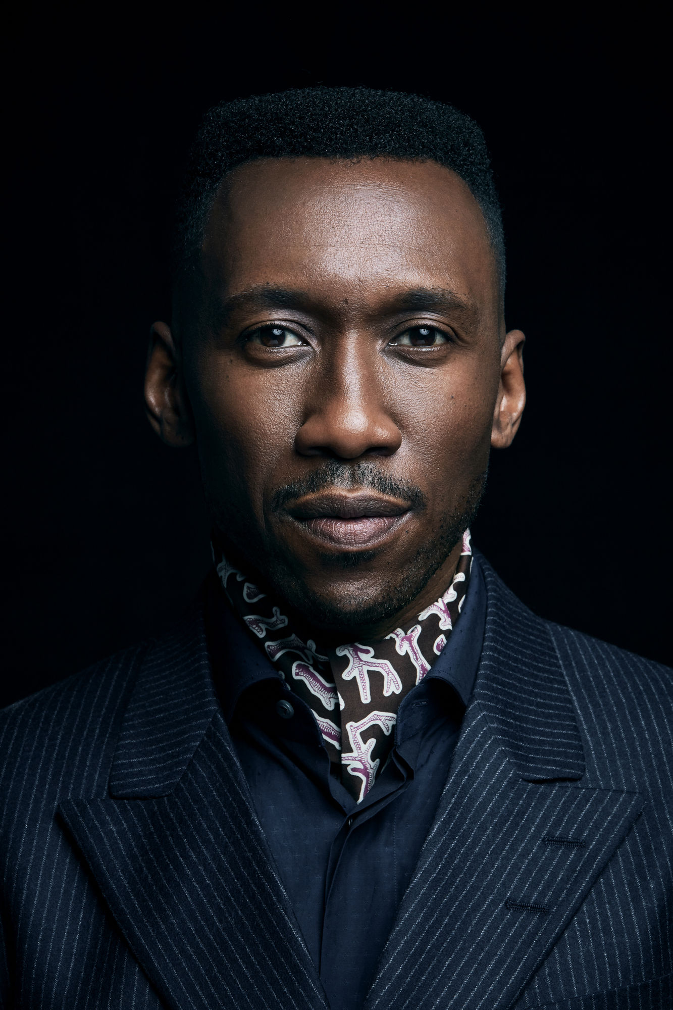 EMILY SHUR c/o GIANT ARTISTS photographed a number of celebrities including Mahershala Ali, Machine Gun Kelly, and Lil Rel Howery during AFI Fest for Entertainment Weekly.