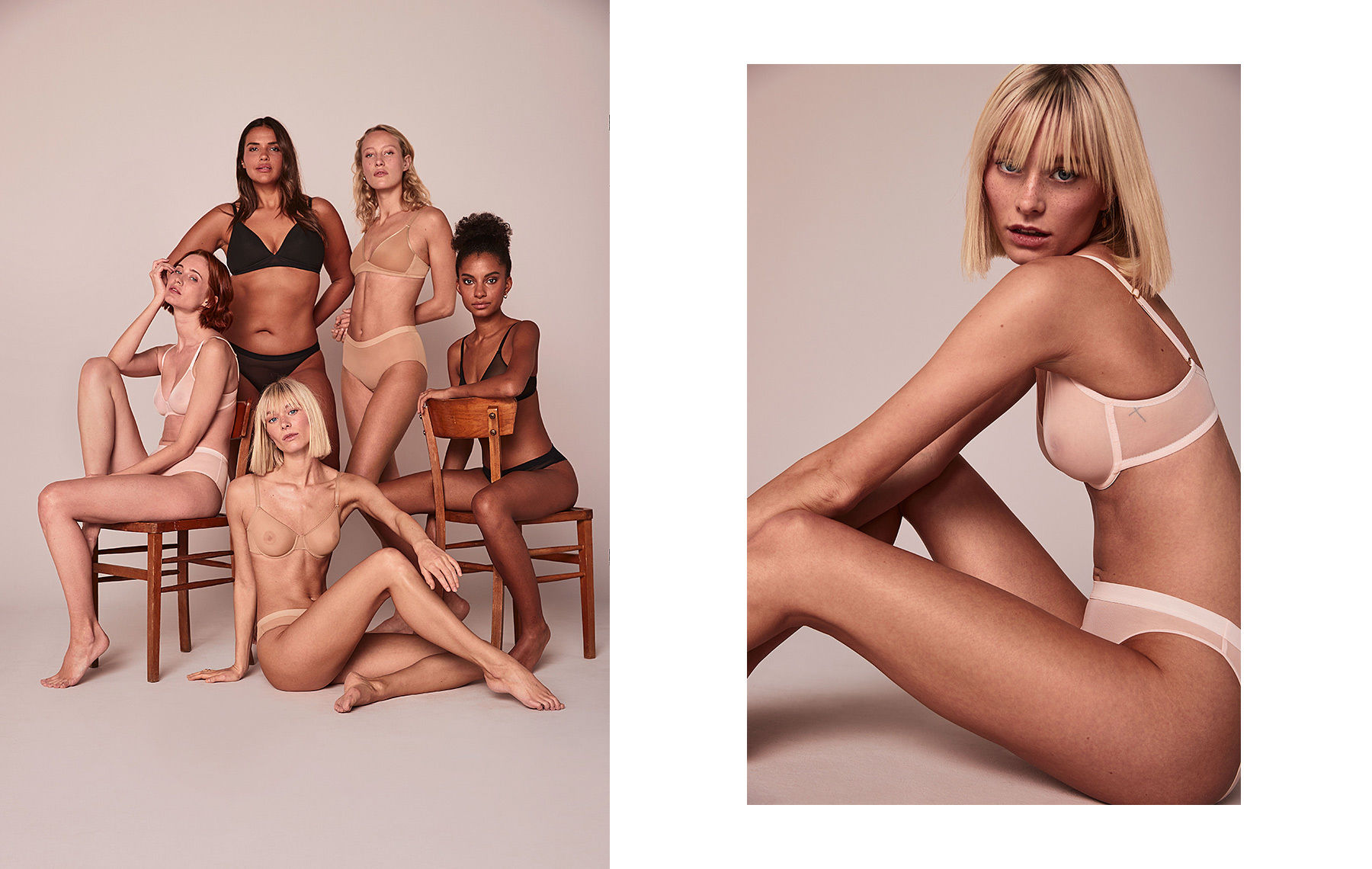 NINA KLEIN, Hair & Make Up: Tina Taii Schmoll for Speidel by Michael Berger