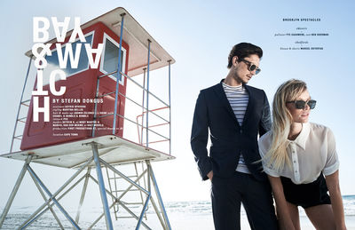 'BAY & WATCH' SPECTR MAGAZINE