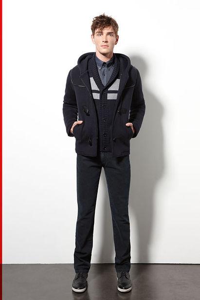 VIVA MODELS : Julien SABAUD for KARL LAGERFELD F/W 2013