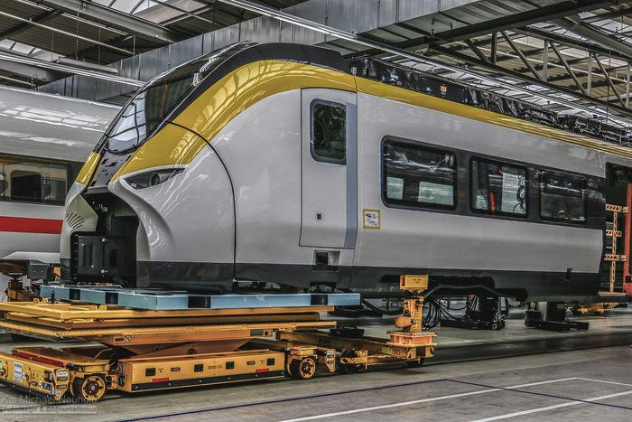 The new Siemens Mireo Trainset